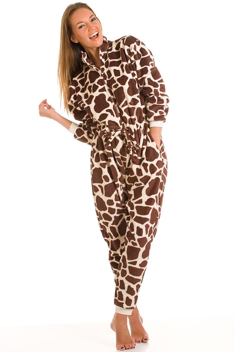 Giraffe Pyjamas Unisex Fancy Dress Mince His Words