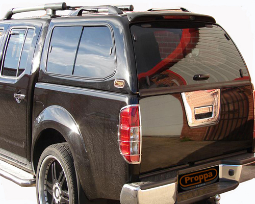 toyota hilux pick up hardtop double cab canopy black ebay. Black Bedroom Furniture Sets. Home Design Ideas