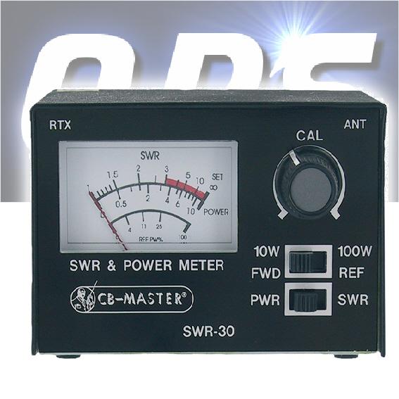 Cb Antenna,cb Radio Meter SWR/POWER METER ALBRECHT SWR-30