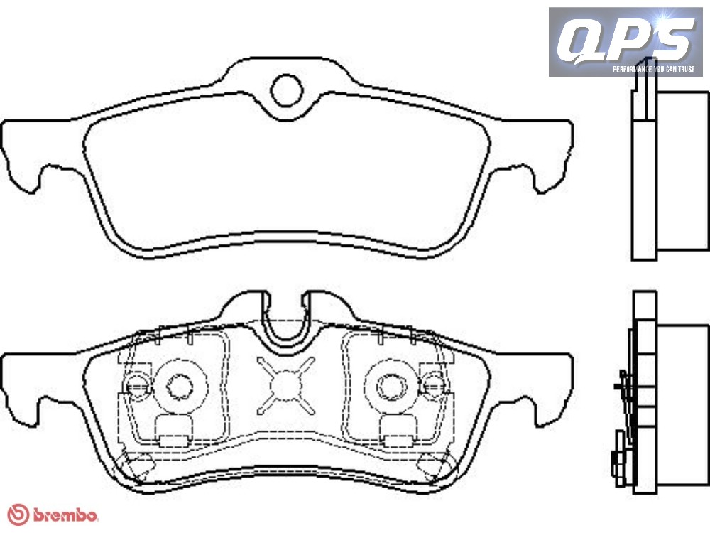 for bmw mini convertible  r52  cooper s brembo rear brake