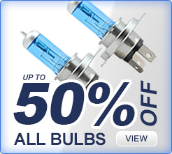 50% off on all bulbs
