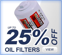 25% off on all filters