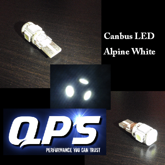 TOYOTA CELICA (T20)  11/93 -> 11/99, LED Canbus Sidelight Bulbs, Alpine White, W