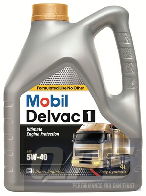 Mobil Delvac 1 5w40 4 Litre Engine Oil