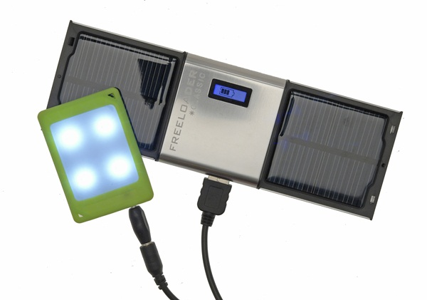 Portable Light Panels : Solar technologies mini charger with free led light