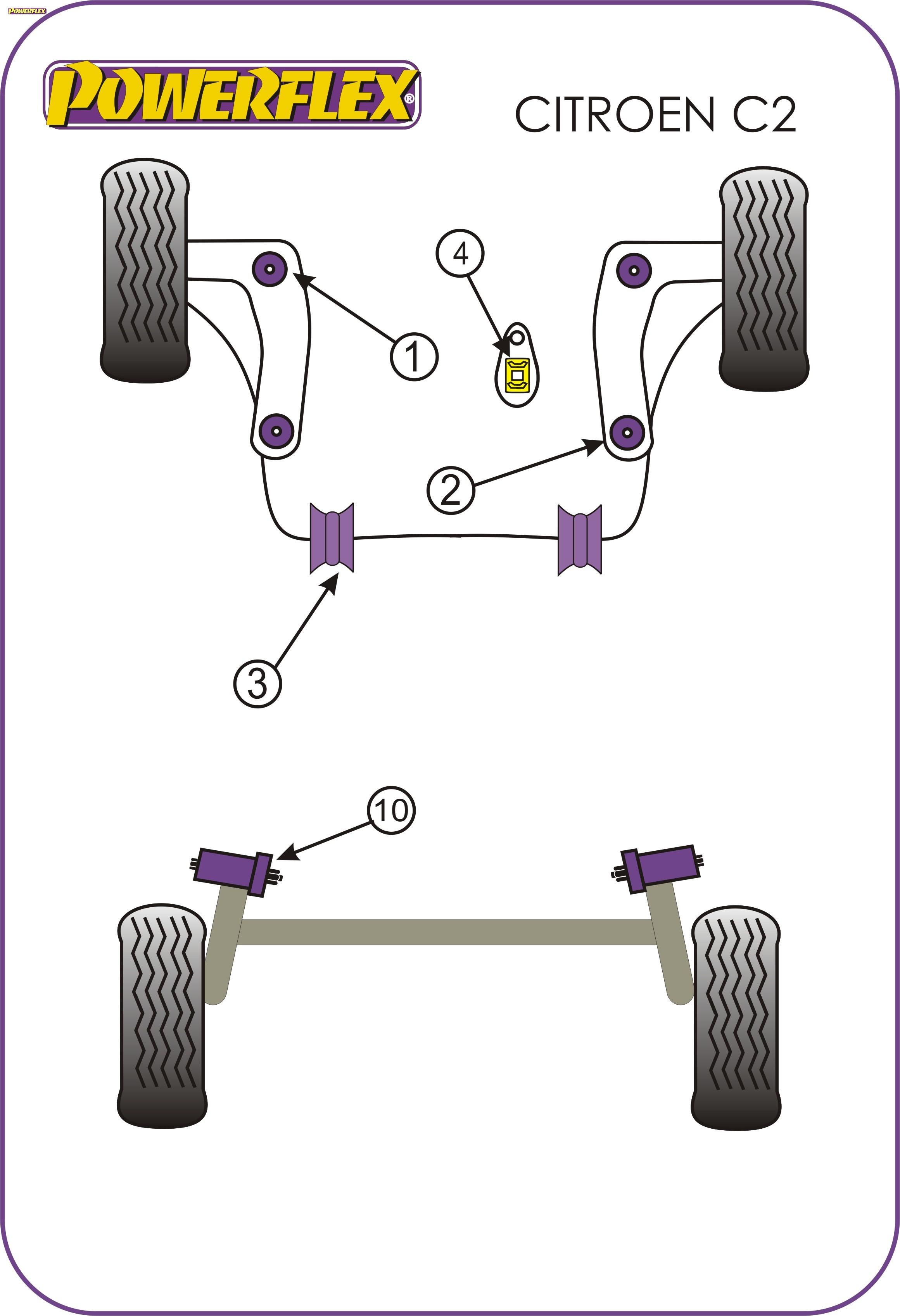 Powerflex-Spazzole-pff12-205-Inserto-MONTAGGIO-MOTORE-INFERIORE-GRATIS-HARIBO
