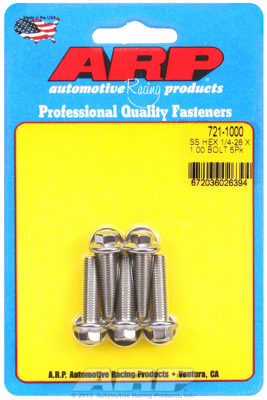 """Arp Arp Kit #: 721-1000 Pour Sae Bolt Kit Pour Arp Inox Pour 1/4"""" -28 Pour 1.000-afficher Le Titre D'origine"""