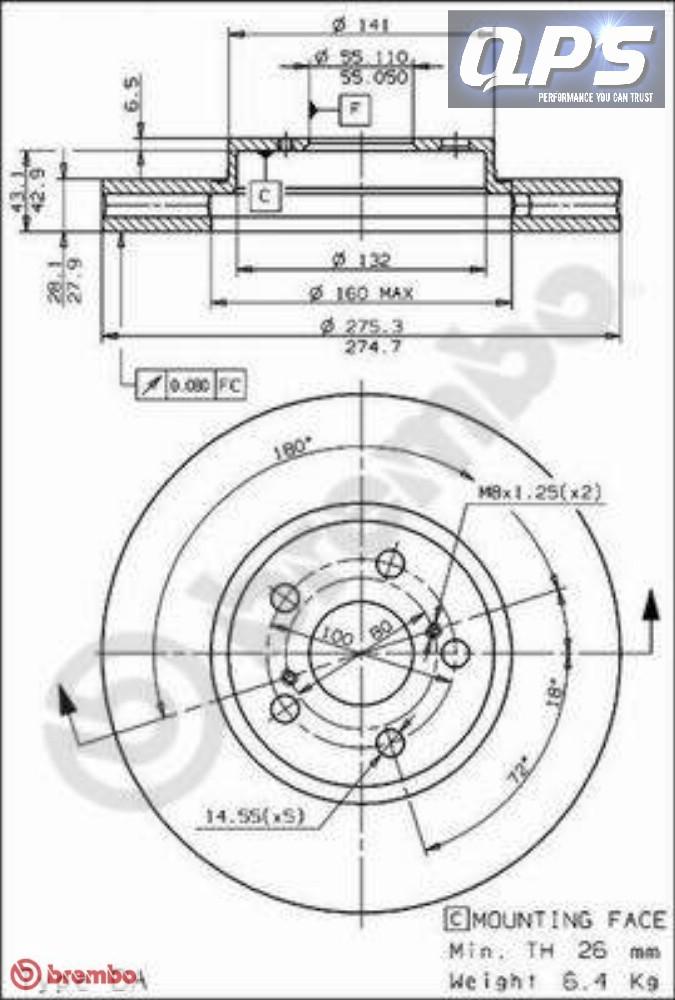 toyota celica cabriolet    t20    2 0 i 16v dischi freno
