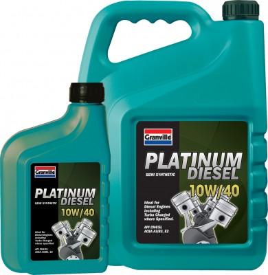 granville platinum diesel 10w 40 oil 5litre ebay. Black Bedroom Furniture Sets. Home Design Ideas