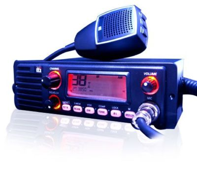 Tti Tcb-1100 Multi-Standard Cb Radio With Front Speaker