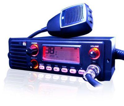 Tti Tcb-1100 Multi-Standard Cb Radio With Front Speaker