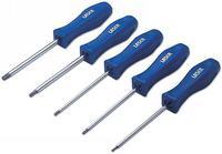 5 Pieces Laser Star Screwdriver Set Chrome Vanadium Blades 2715