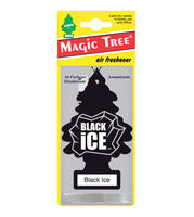 Magic Tree Car/Van/Caravan/Home  Air Freshener - Black Ice MT10155/MTO0004
