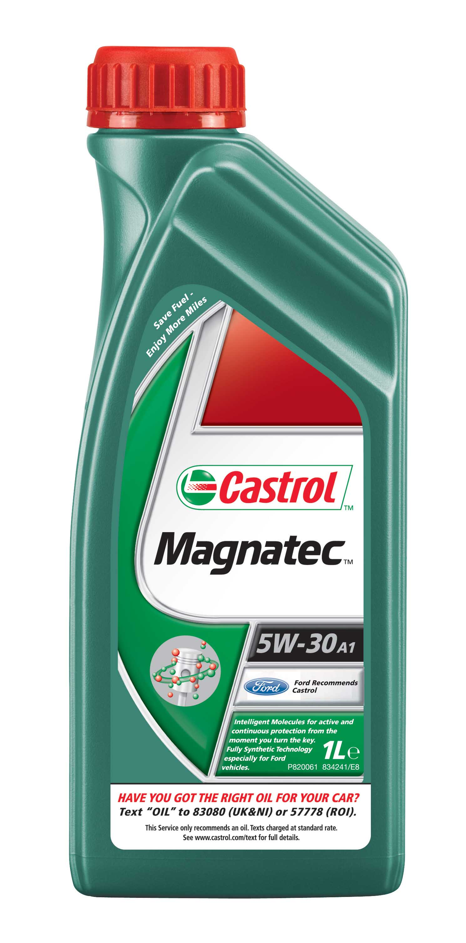 Castrol magnetic 5w 30 motor engine oil cold start 1 litre for What weight motor oil should i use