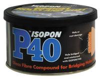 Davids Isopon Glass Fiber Car Body Dents Scratches Repair Filler 250ml P40/S