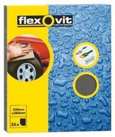 25x Flexovit Wet/Dry Sandpaper Sanding Sheets 230 x 280mm Assorted 63642526581