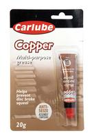 Carlube Copper Grease Anti-Seize 20gm tube XCG020