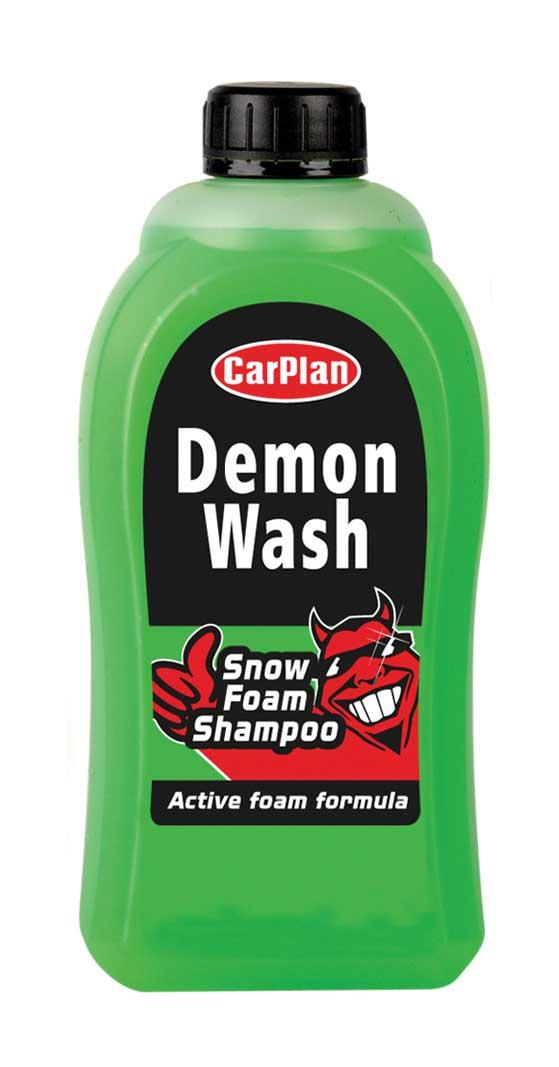 carplan demon wash snow foam shampoo concentrated formula