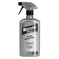 Wonder Wheels Super Wheel Wax For Steel Plastic Chrome Wheel Trims 500ml WWX505