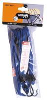 24Inch Jumbo Light Duty Elastic Luggage Bungee Straps Blue 10060