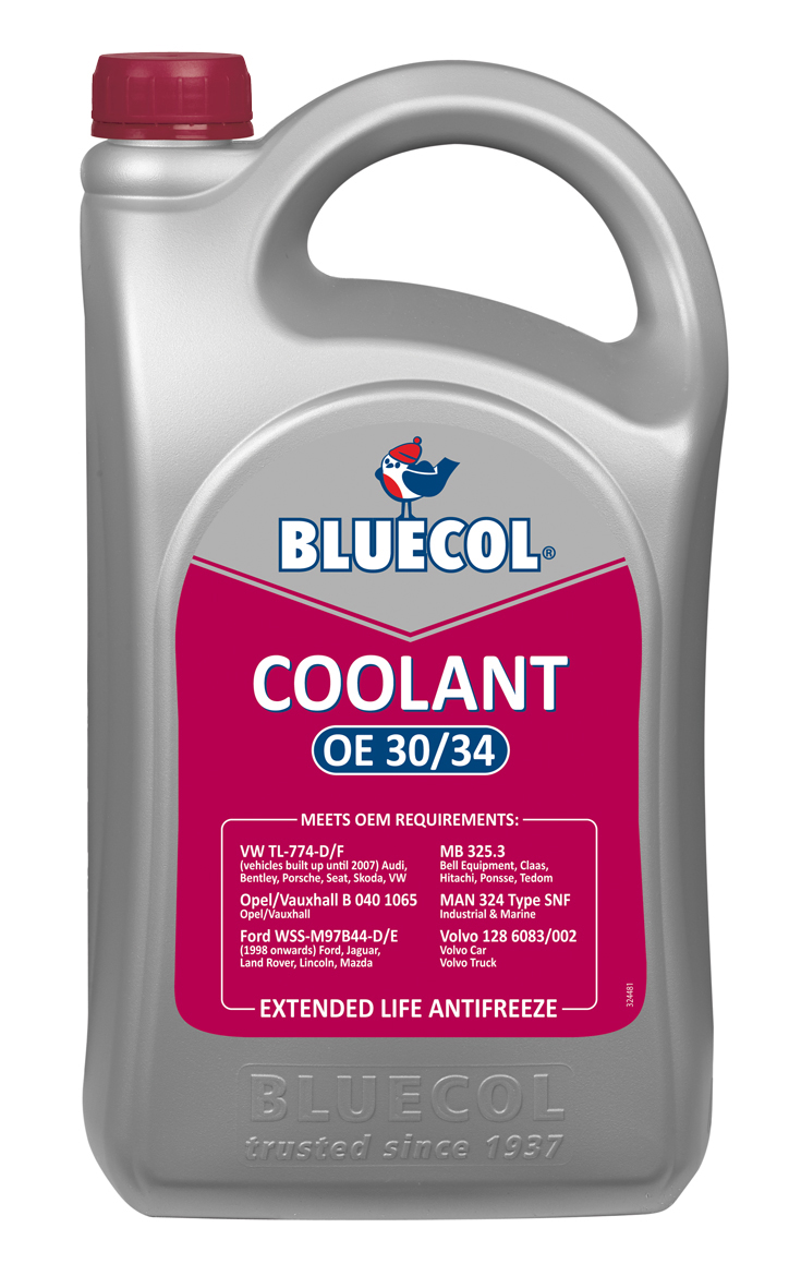 bluecol coolant oe 30 34 liquid heavy duty all year. Black Bedroom Furniture Sets. Home Design Ideas