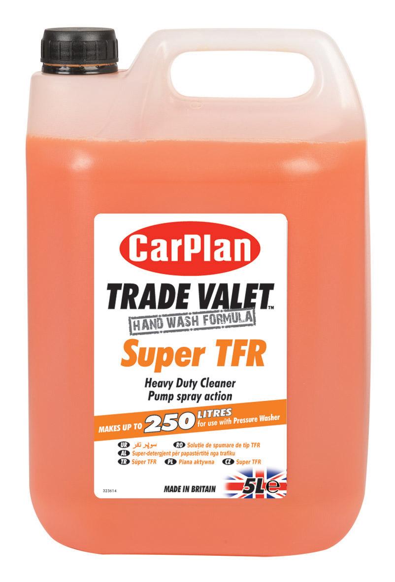 carplan trade valet super tfr heavy duty cleaner shampoo. Black Bedroom Furniture Sets. Home Design Ideas