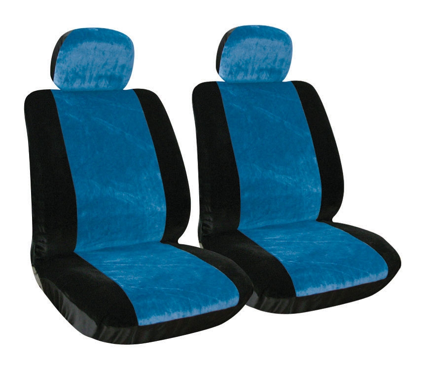 Autocare Universal Front And Passenger Blue Car Seat Covers