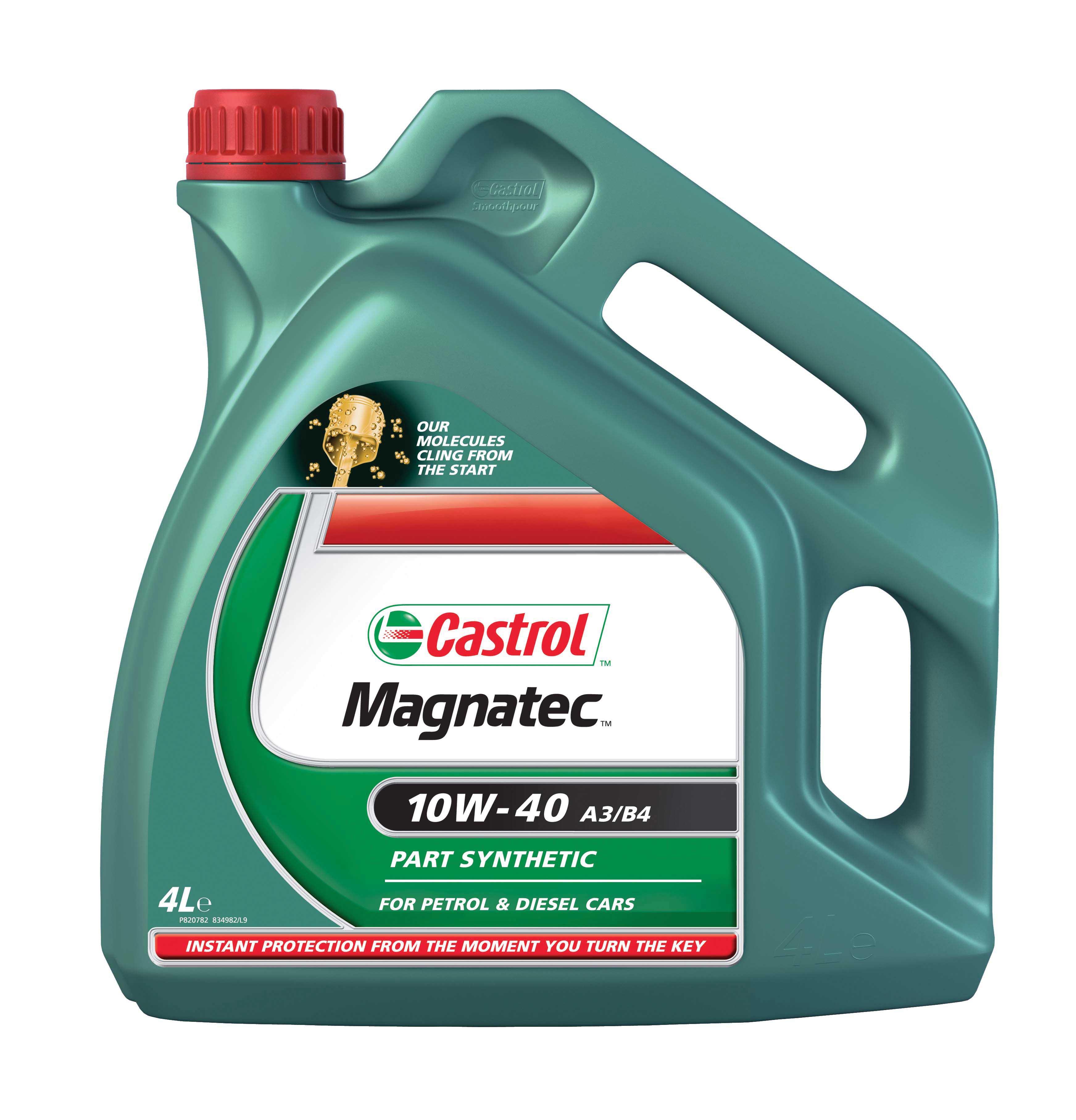 2266 7065 castrol magnatec 10w 40 a3 b4 4litre engine oil. Black Bedroom Furniture Sets. Home Design Ideas