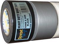 Streetwize Duct Tape Black 50mm x 50m Waterproof Multi Purpose SS5050BK