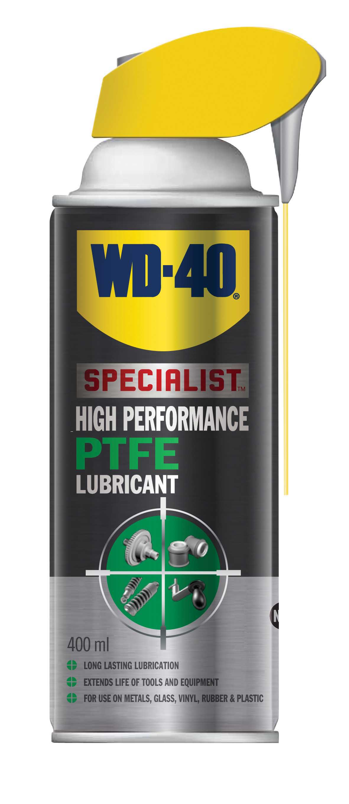 Specialist High Performance PTFE Lubricant Maintenance Spray 400ml WD-40 44397