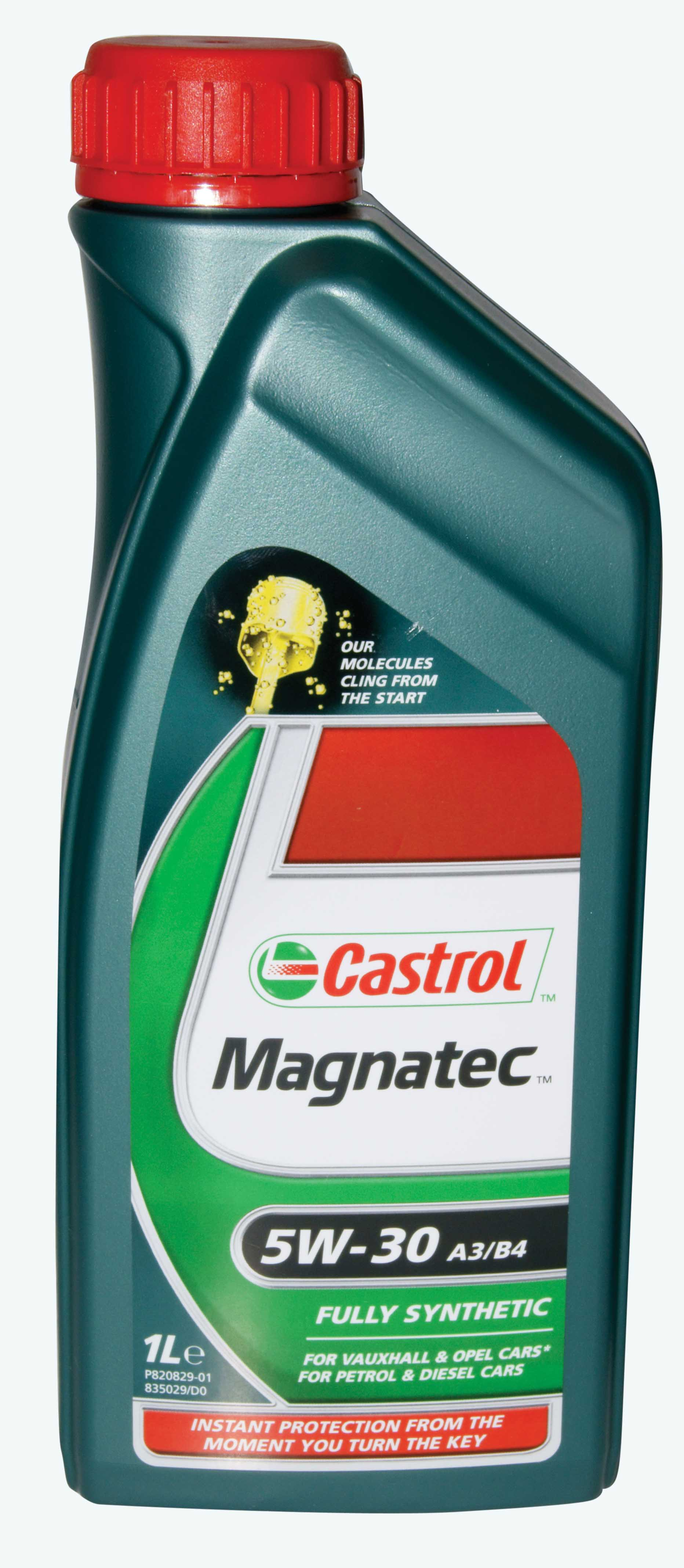 Castrol Fully Synthetic Motor Engine Oil 1 Litre 5w 30
