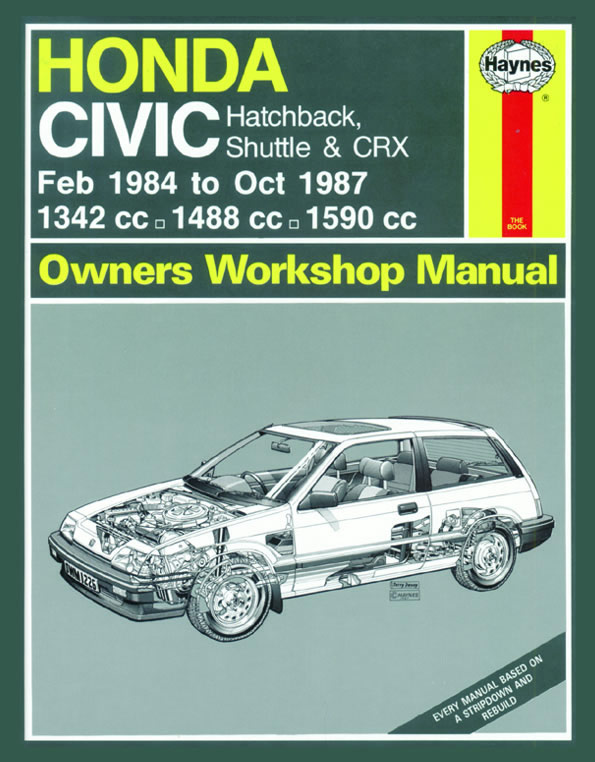 haynes owners workshop car manual honda civic handbook