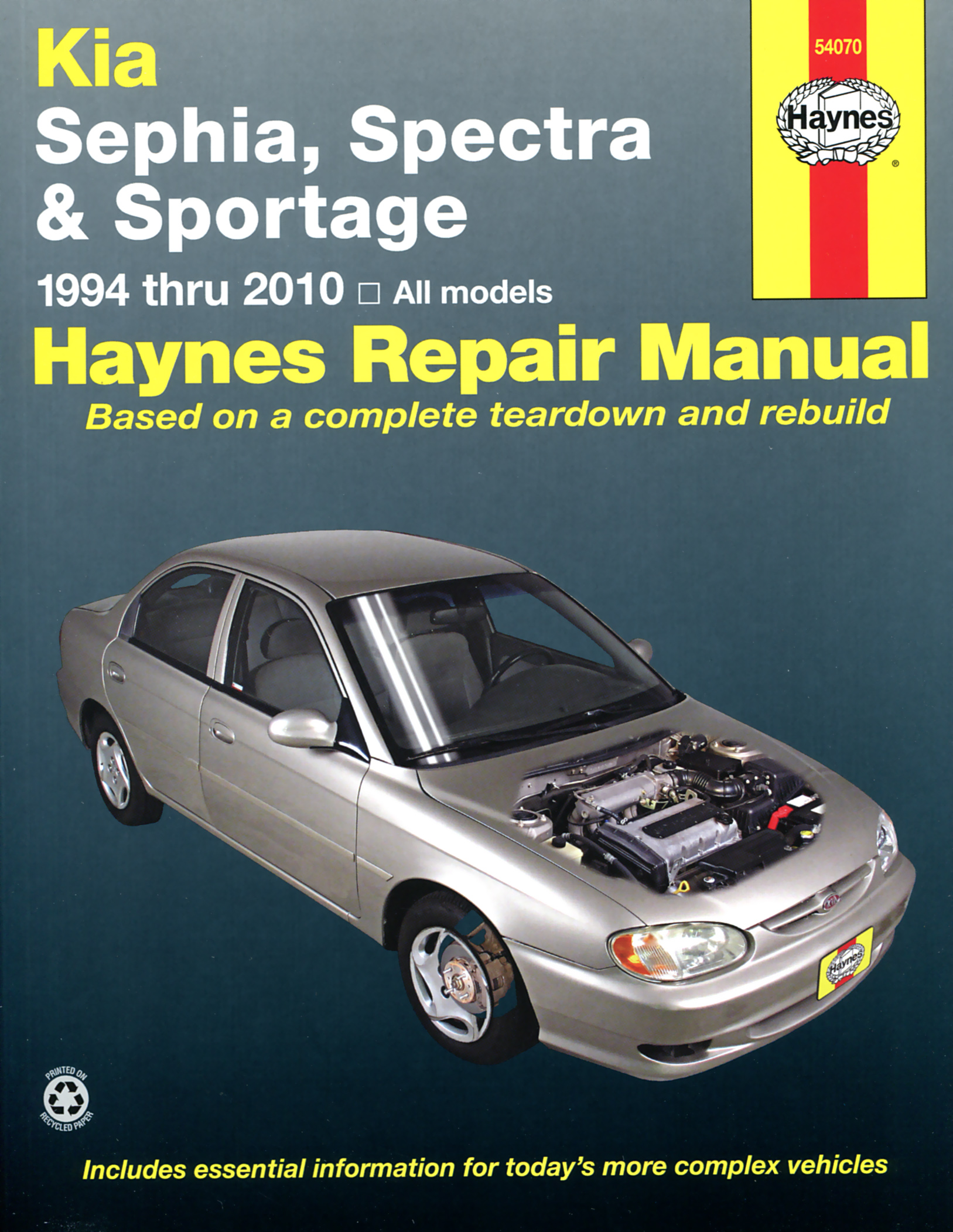 Haynes Owners   Workshop Car Manual Kia Sephia Spectra Sportage  94