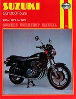 Haynes Owners + Workshop Motorcycle Manual Suzuki GS1000 Four (77 - 79) 0484