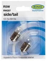 Ring Car Auto Side & Tail Twin Pack Bulb Light RW207
