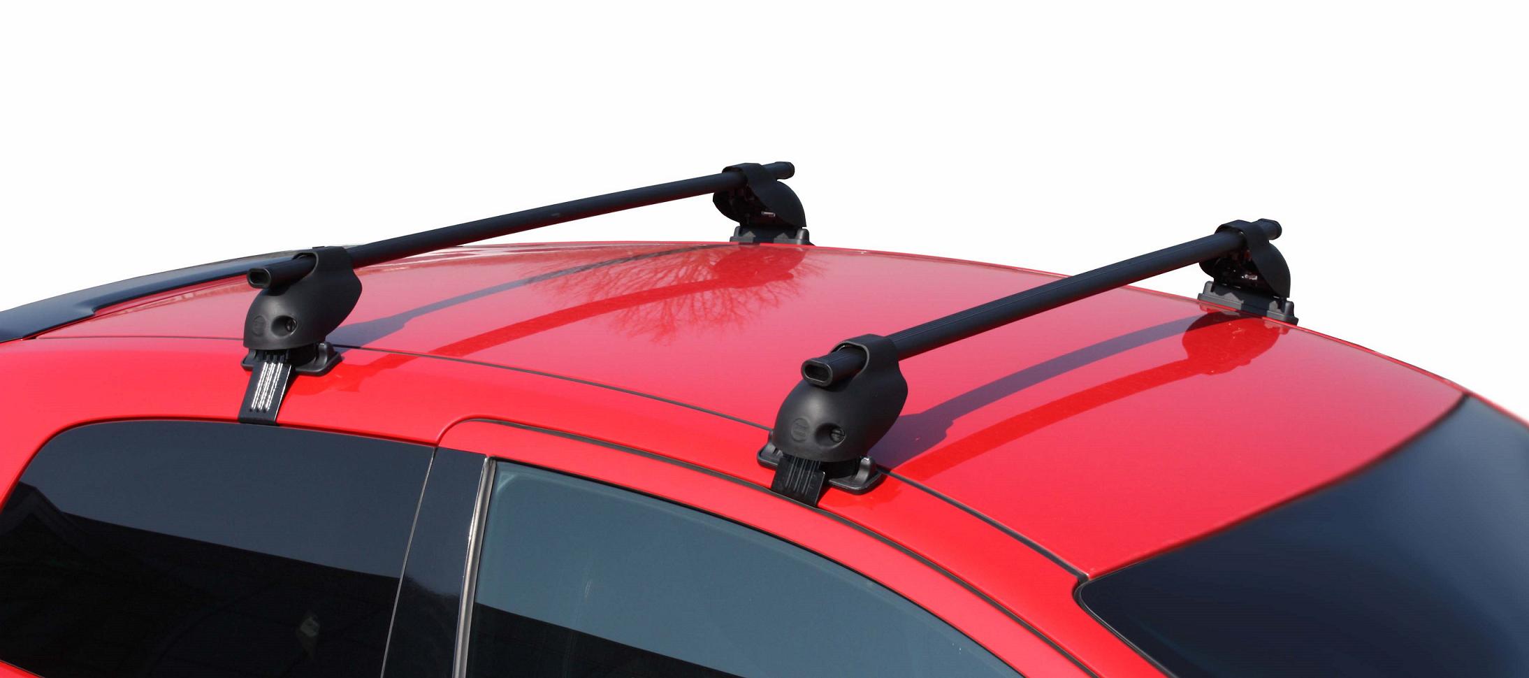 Equip car roof bar load rails carrier for honda citroen skoda hyundai toyota vw2