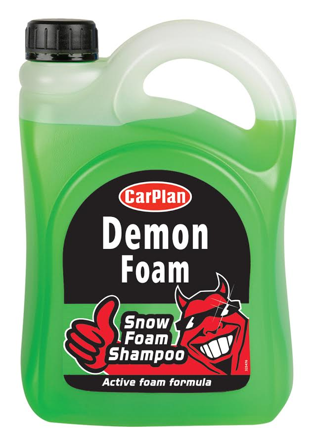 carplan demon wash snow foam shampoo bright green formula. Black Bedroom Furniture Sets. Home Design Ideas