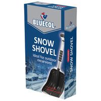 Bluecol Extendable Compact Snow Shovel/Scoop Extending Telescopic BES000