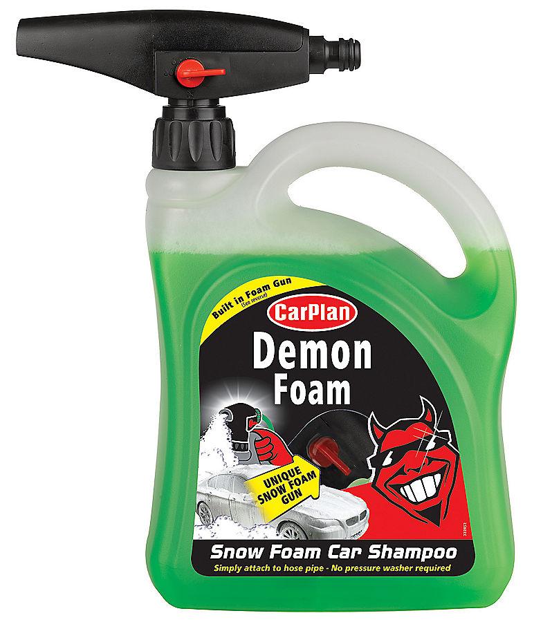 Demon Shine Snow Foam With Built In Gun Head 2 Litre Ltr