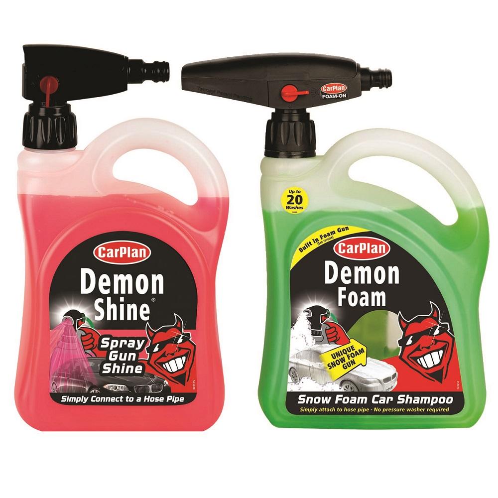 Carplan Demon Shine Snow Foam Gun 2l And Demon Shine Spray