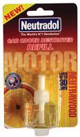 Neutradol Car/Van/Caravan Air Freshener Deodorizer Neutrawood Refill 6MER
