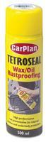 CarPlan Tetroseal Waxoil Aerosol Spray Rust Proofing Coating Clear 500ml TWO500