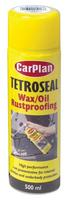 Carplan Tetroseal Waxoil Aerosol Spray Rust Proofing Coating Black 500ml TWO501