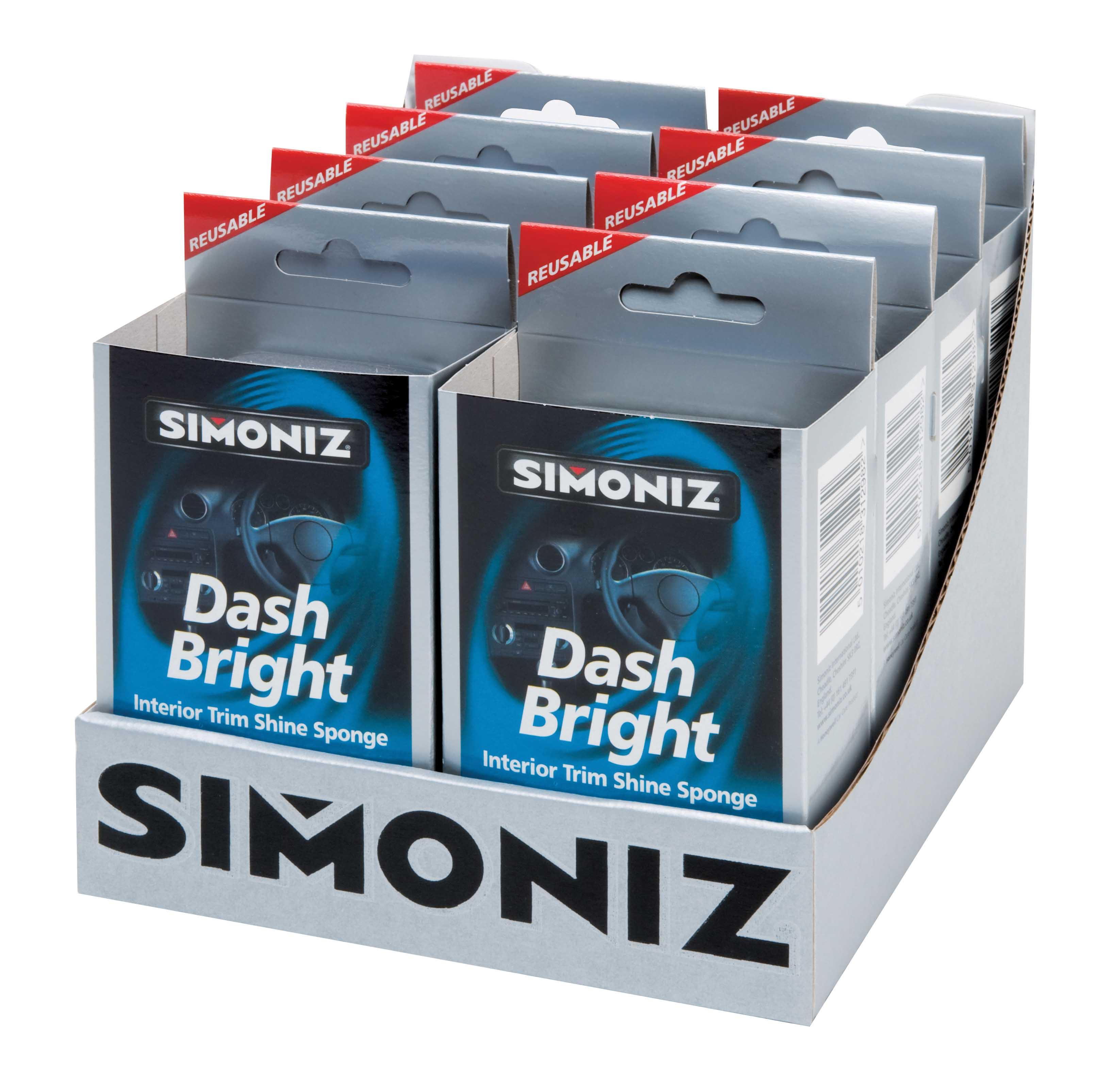 simoniz dash bright car interior trim shine sponge cleaner sdb1. Black Bedroom Furniture Sets. Home Design Ideas