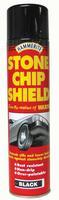 Hammerite Stone Chip Shield Aerosol Black 600ml 5092832