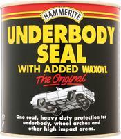 Hammerite Underbody Seal Heavy Duty Protection Waxoyl 1Litre/Ltr 5092952