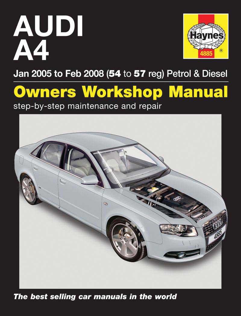 haynes owners workshop car manual audi a4 petrol. Black Bedroom Furniture Sets. Home Design Ideas