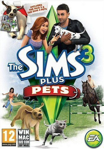 THE SIMS 3 PLUS THE SIMS 3 PETS EDITION PC/MAC *NEW & SEALED* UK SELLER  Enlarged Preview