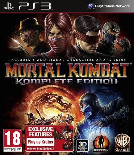 MORTAL KOMBAT KOMPLETE (COMPLETE) EDITION PS3 *NEW & SEALED* Enlarged Preview