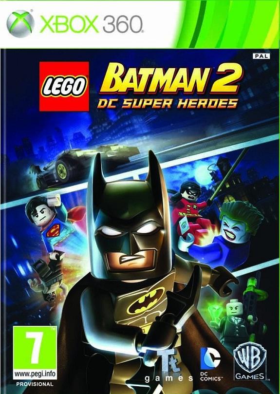 LEGO BATMAN 2 DC SUPER HEROES XBOX 360 *NEW & SEALED PRE ...